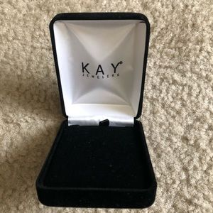 Black Kay jewelers necklace box